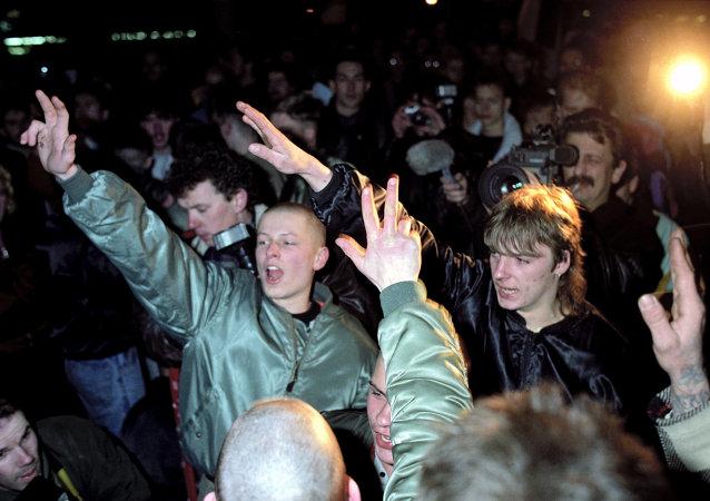 Des néonazis allemands