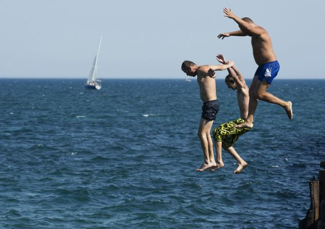 Les plages de la Crimée