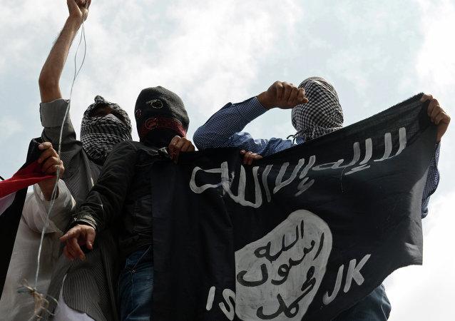 Des membres du grouipe terroriste Etat islamique