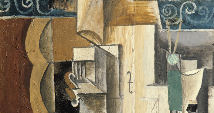 Pablo Picasso: Violon et guitare