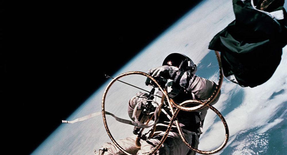 Spationaute en mission