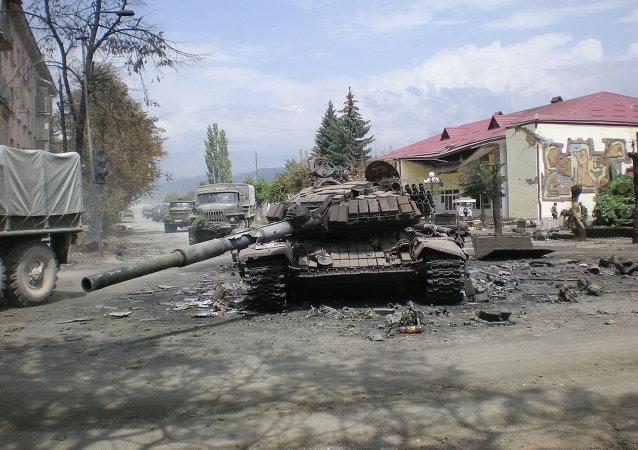 Ossétie du Sud en août 2008