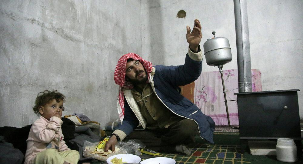Réfugiés syriens dans la Vallée de la Bekaa, au Liban