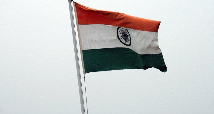Le drapeau indien