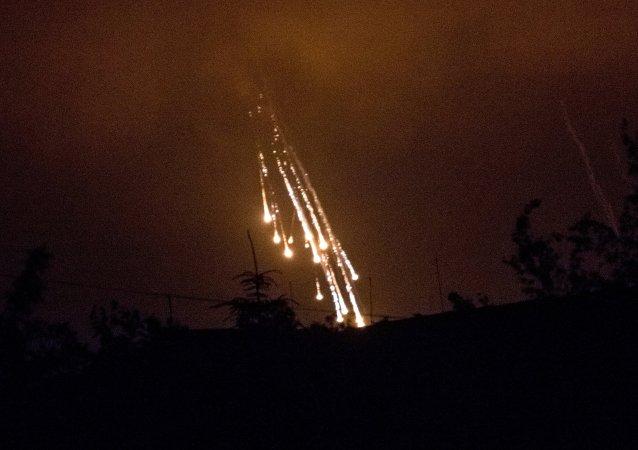 Bombes au phosphore utilisées en Ukraine