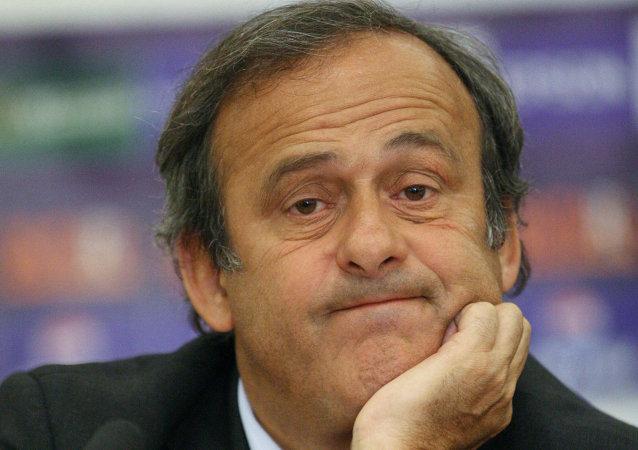 Platini, candidat à la présidence de la FIFA