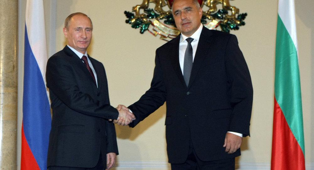 Премьер-министр РФ Владимир Путин встретился в Софии с премьер-министром Болгарии