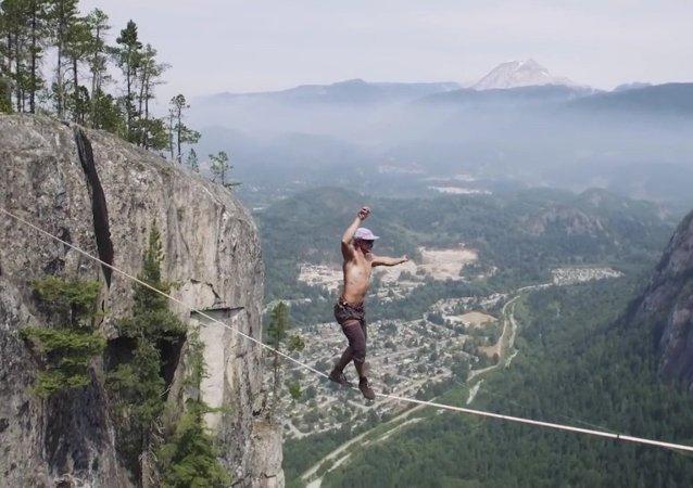 Marcher 290 m au-dessus du vide