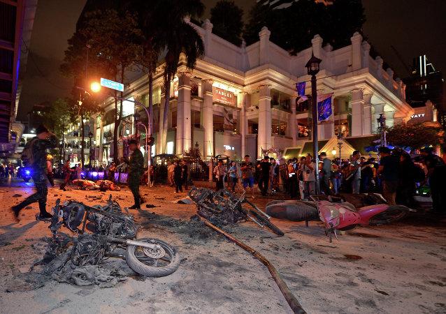 Bangkok frappée par un attentat
