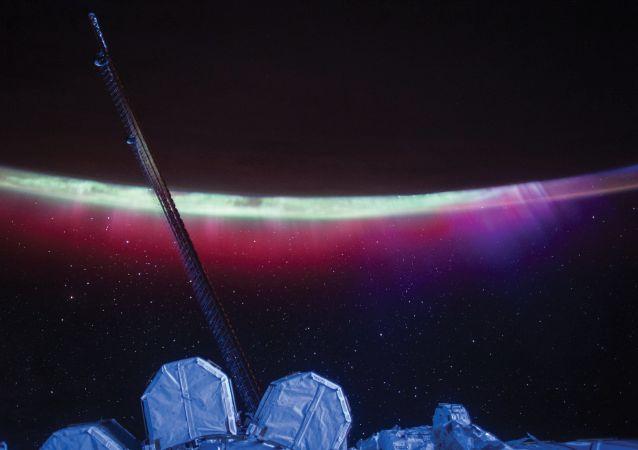 La Terre vue de l'ISS.
