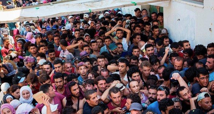 Migrants syriens
