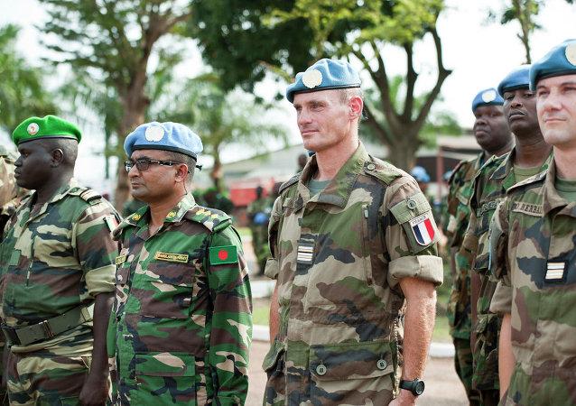 Le transfert des compétences à la MINUSCA en Centrafrique, septembre 2014