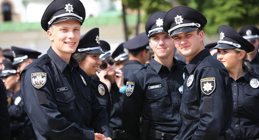 Police ukrainienne, 2015