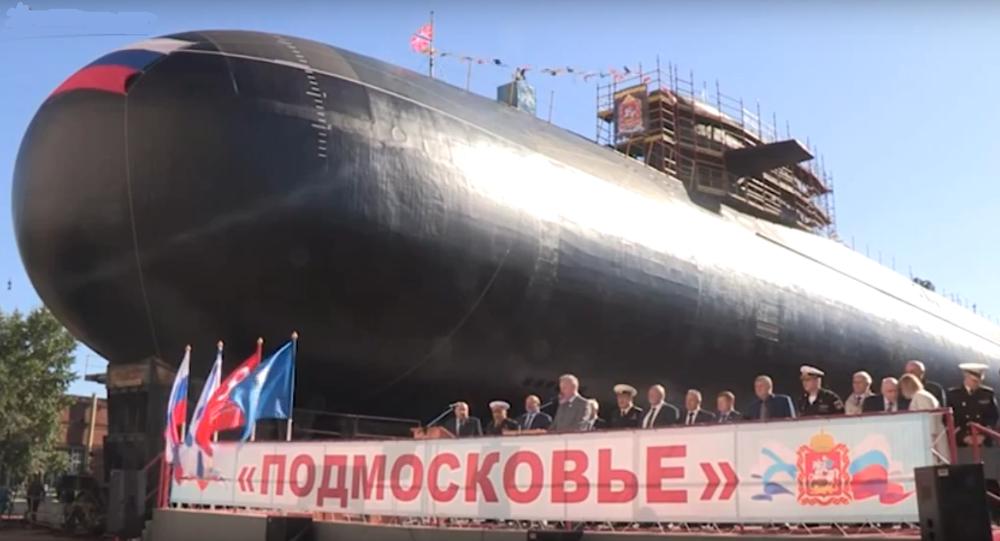 Le nouveau sous-marin nucléaire lanceur d'engins (SNLE) BS-64