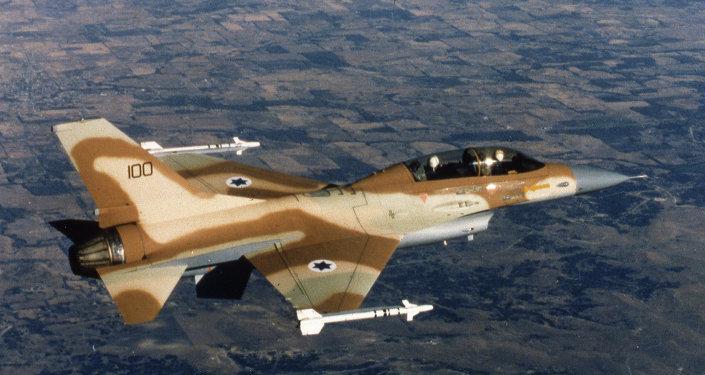 Un chasseur F-16 israélien