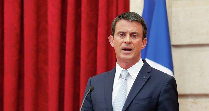 Le premier ministre français Manuel Valls