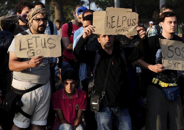 Crise des migrants en Macédoine