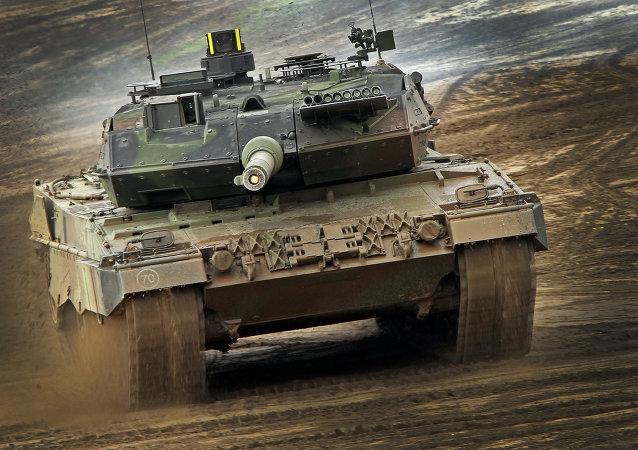 Le char allemand Leopard-2