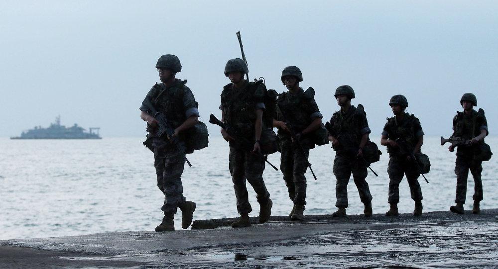 les militaires sud-coréens