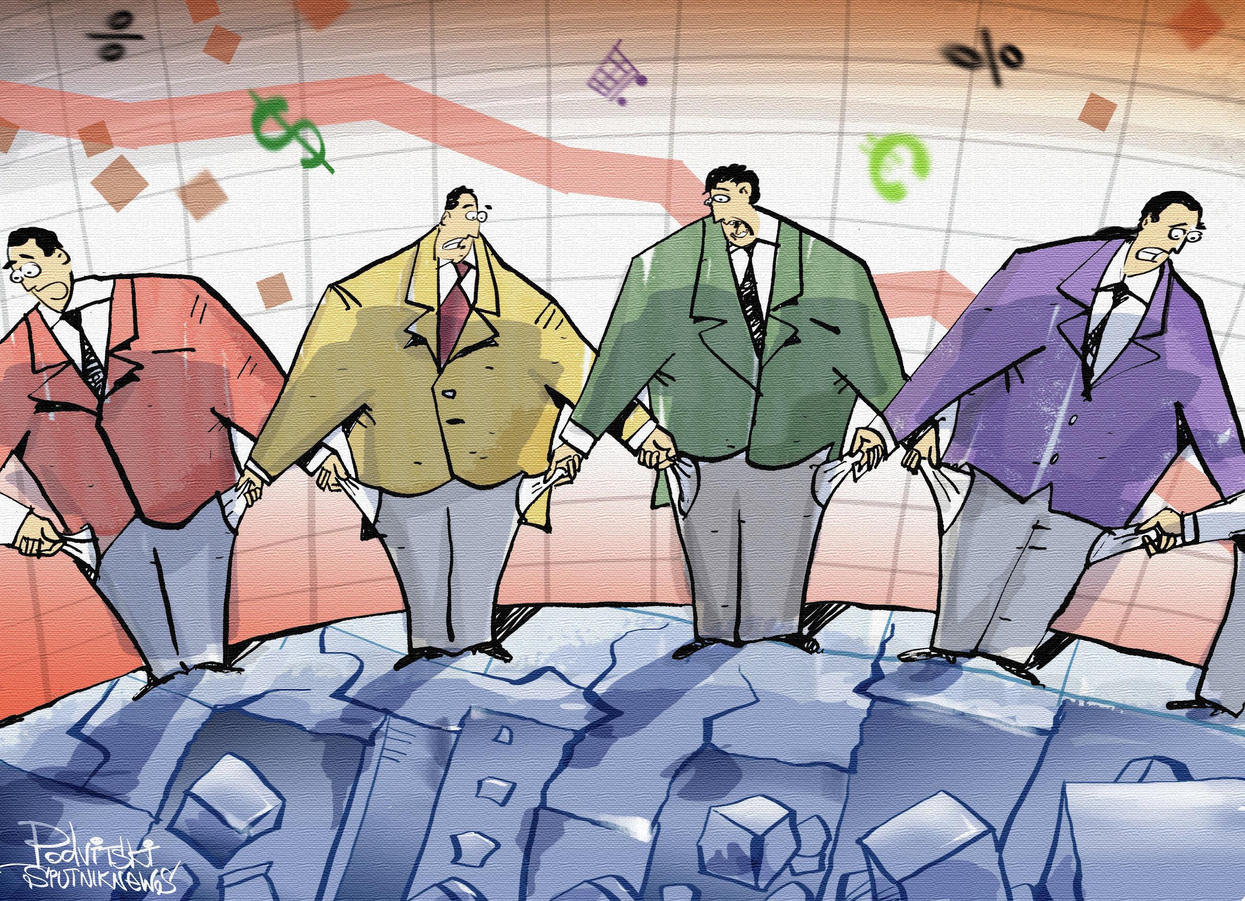 Krach financier mondial: le roi est nu
