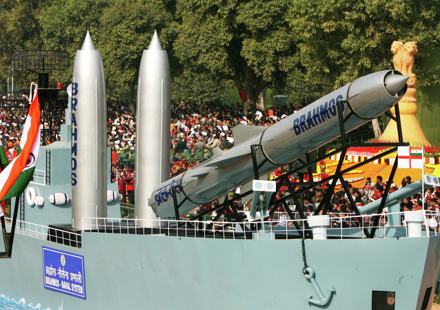Missile supersonique russo-indien BrahMos
