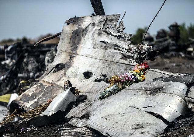 Sur les lieux du crash du Boeing malaisien en Ukraine