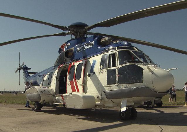 MAKS 2015: Airbus présente son hélicoptère lourd