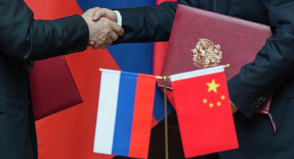 Les accords sino-russes