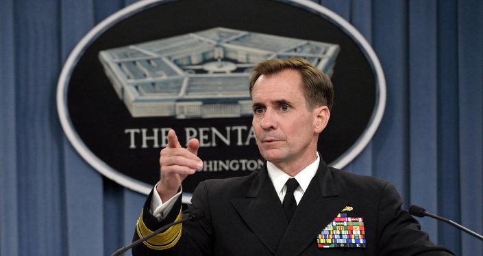 Porte-parole du Département d'Etat US John Kirby