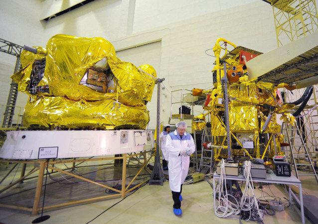 La sonde Phobos Grunt