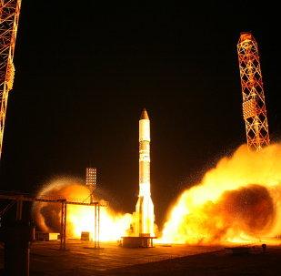 Tir d'un lanceur Proton-M (archives)