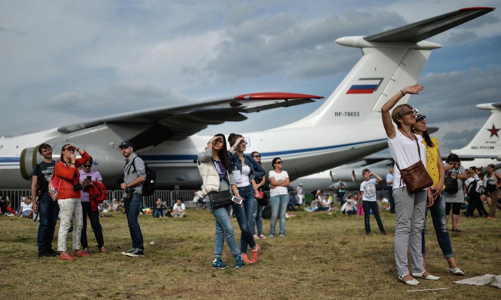 Salon MAKS 2015: quand les avions font le spectacle