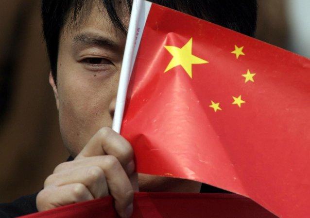 Le drapeau chinois