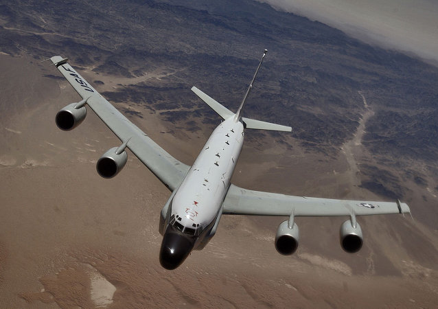 Un RC-135 de l'US Air Force