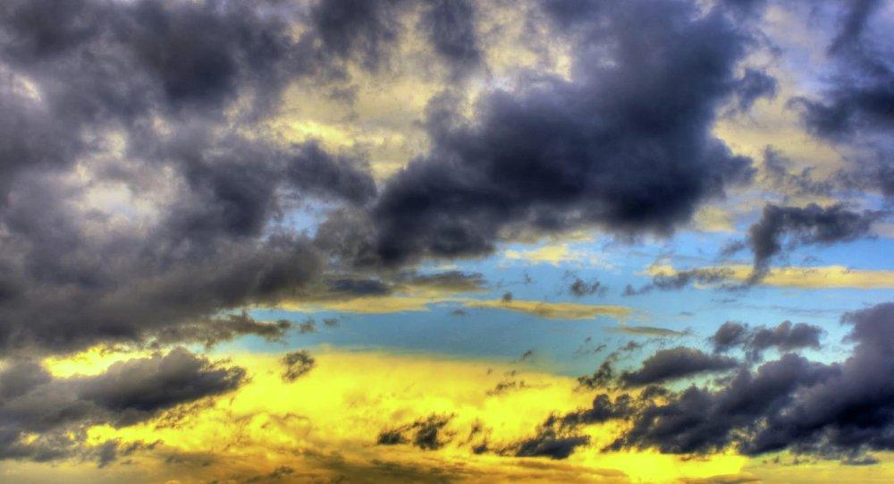 A teared sky