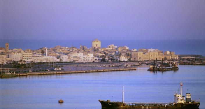 Tripoli, la capitale libyenne