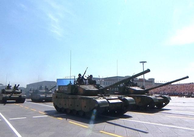 Imposant défilé militaire à Pékin