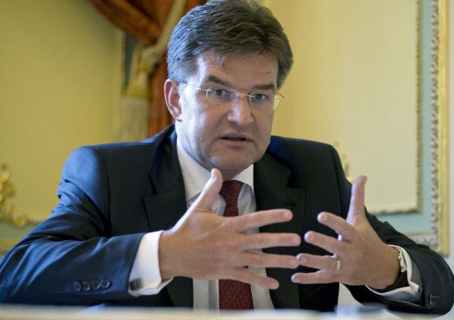 Le ministre slovaque des Affaires étrangères Miroslav Lajčák