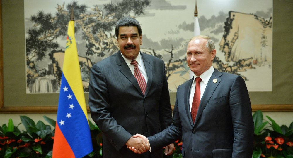 Vladimir Poutine et Nicolas Maduro en Chine