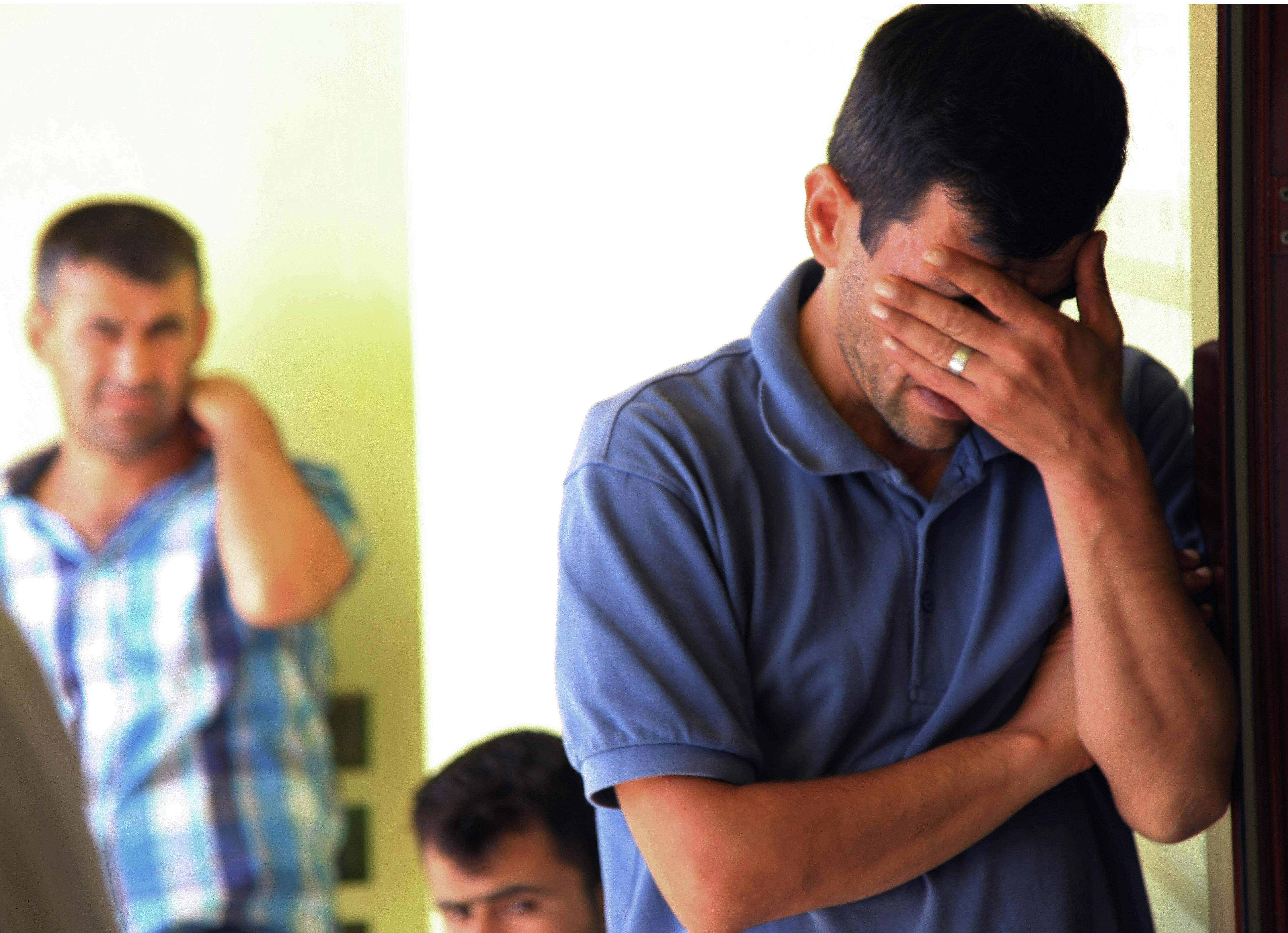 Le Syrien Abdullah Kurdi, père du petit Aylan