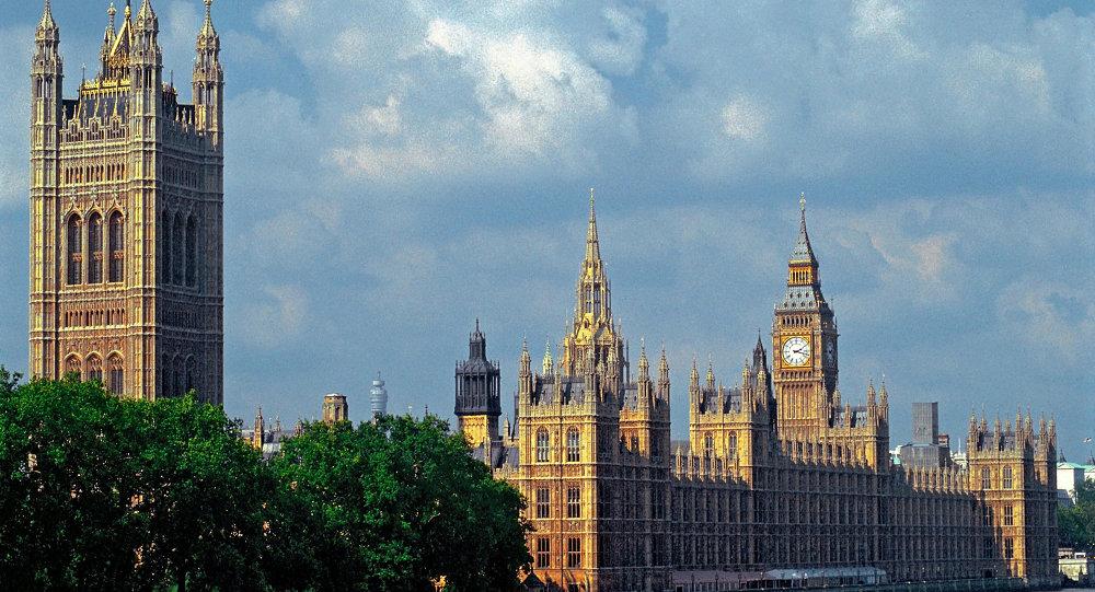 Palais de Westminster, siiège du Parlement britannique