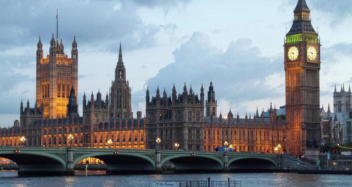 Palais de Westminster, siège du Parlement britannique