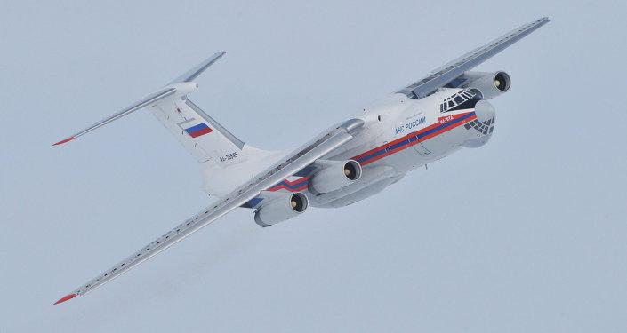 Un Iliouchine Il-76
