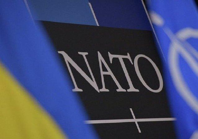 Флаги Украина НАТО