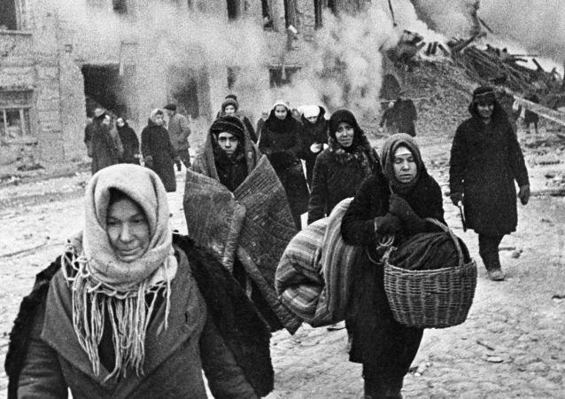 Le blocus de Léningrad