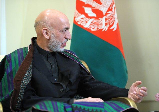 Hamid Karzai, ex-président de l'Afghanistan