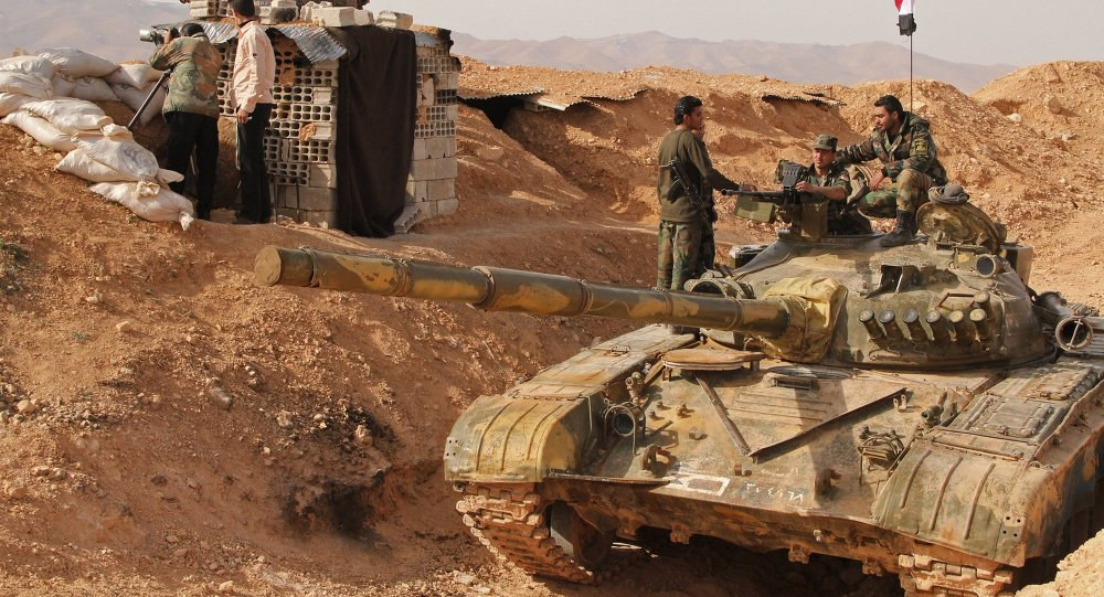 Les militaires de l'armée syrienne