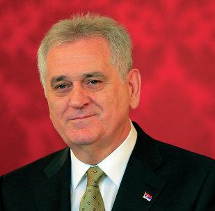 président serbe Tomislav Nikolic