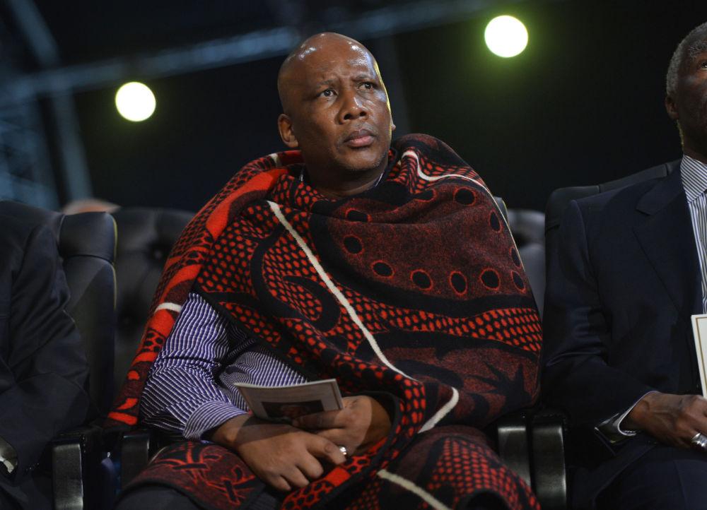 Le roi du Lesotho Letsie III