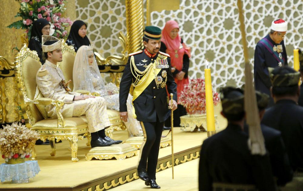 Le sultan du Brunei Hassanal Bolkiah